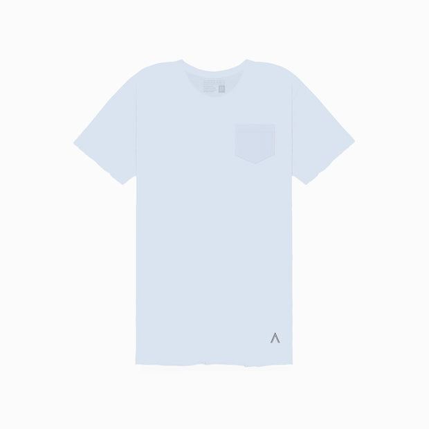 North & Acrux Sky Blue Unfinished Tee