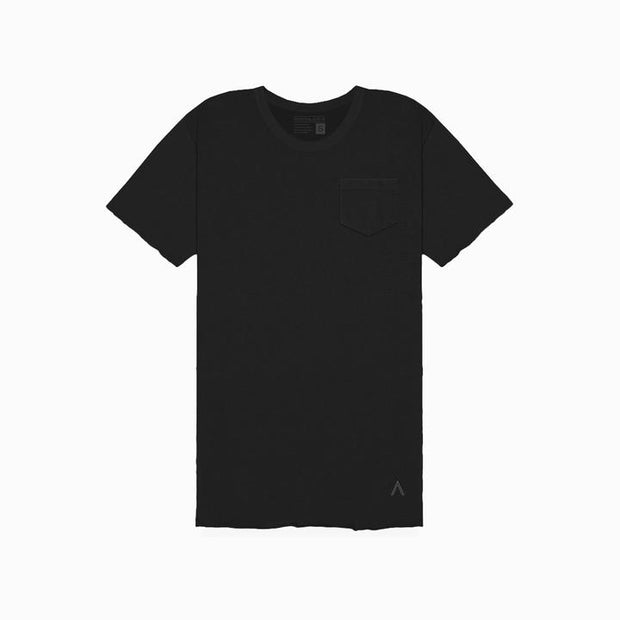 Black Unfinished Tee