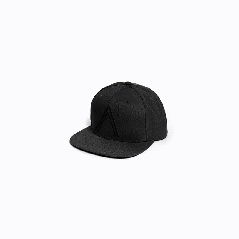 Black on Black Logo Snapback