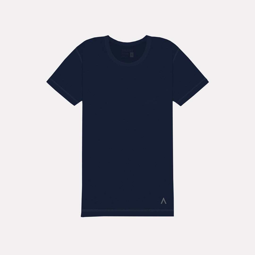 Navy Inside Out Tee