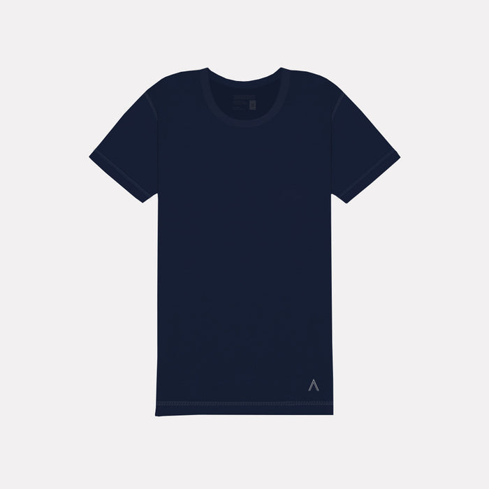 North & Acrux Navy Inside Out Tee