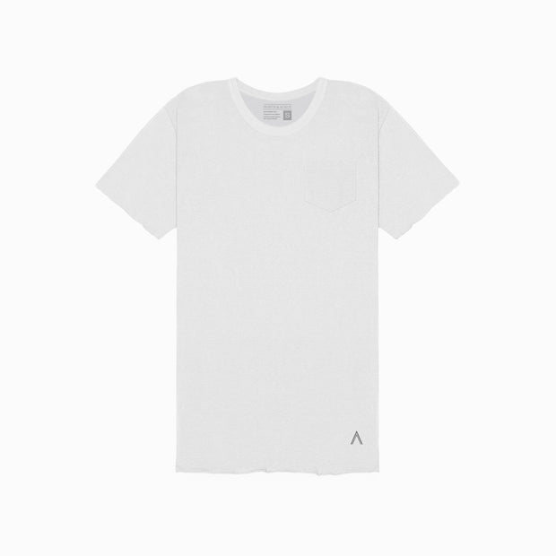 North & Acrux White Unfinished Tee
