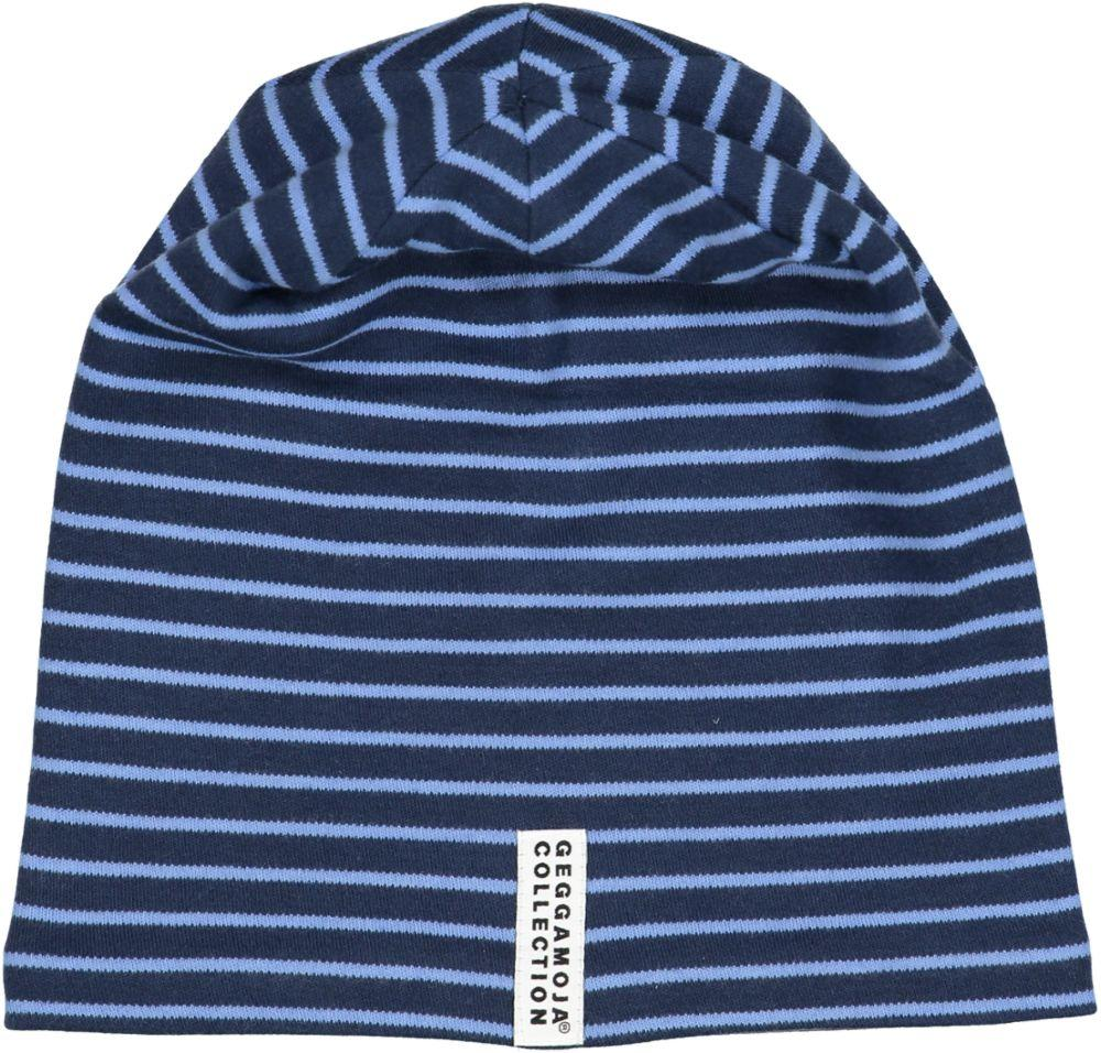 Geggamoja Organic Hat, Stripes