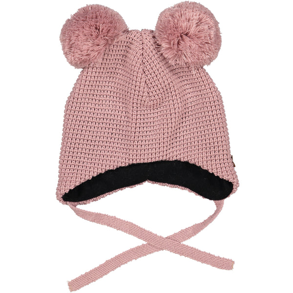 Geggamoja Knitted Hat, Mellow Rose