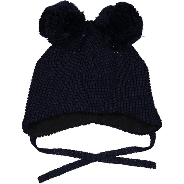Geggamoja Knitted Hat, Navy