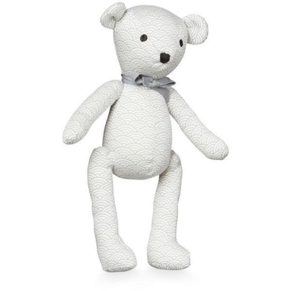 Cam Cam Copenhagen Teddy Bear, Gray Wave