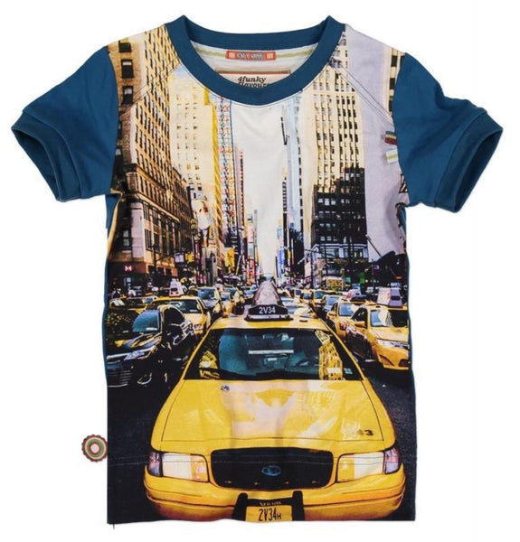 4 Funky Flavours t-shirt, Mr. Cab Driver
