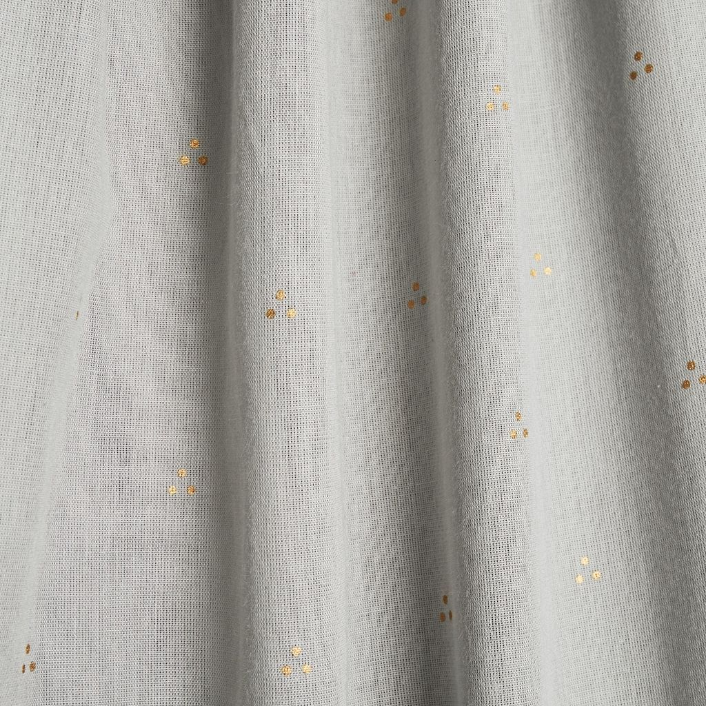 Cam Cam Copenhagen organic Cotton Bed Canopy -  Dot Gray