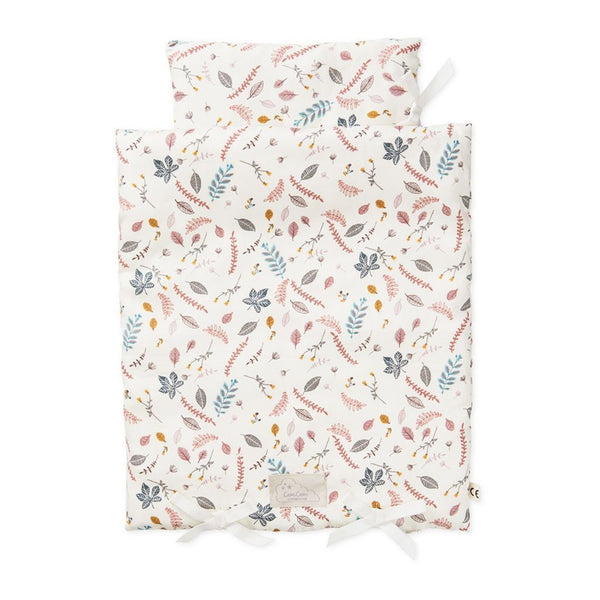 Cam Cam Copenhagen Organic Doll's Bedding - Pressed Leaves