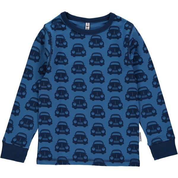 Maxomorra Organic Car T-shirt L/S