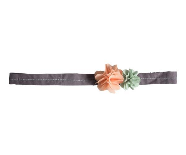 Maileg Hairband, Fluff Flowers, Rose-Green