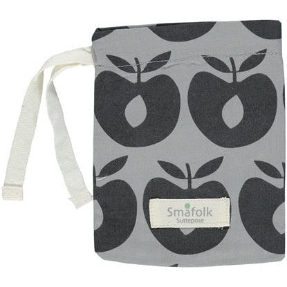 Smafolk pacifier bag, gray