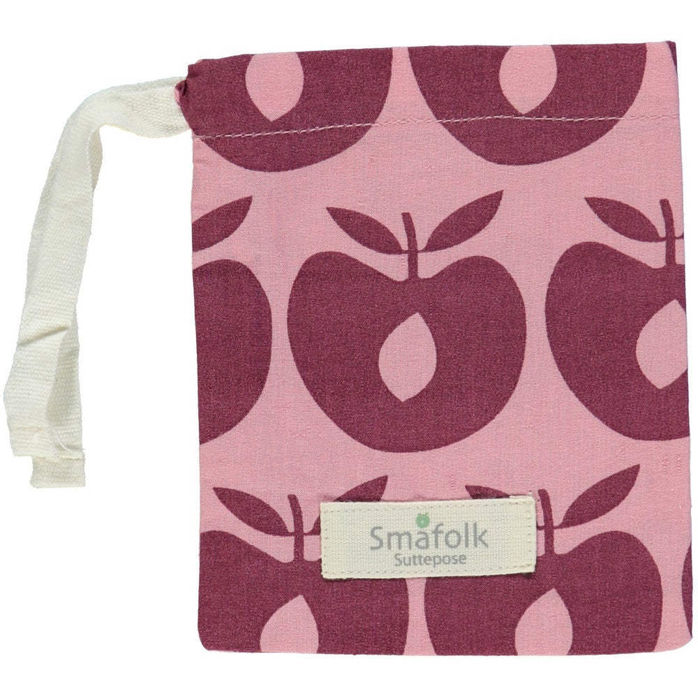 Smafolk pacifier bag, pink