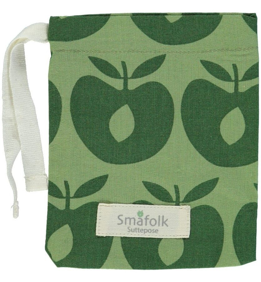 Smafolk pacifier bag, green