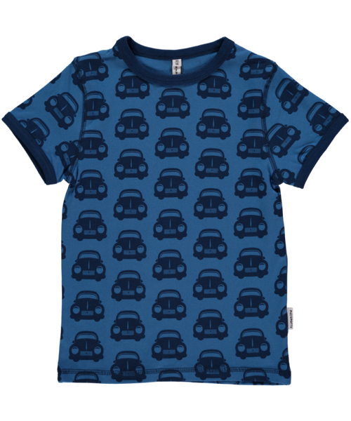 Maxomorra organic car t-shirt s/s