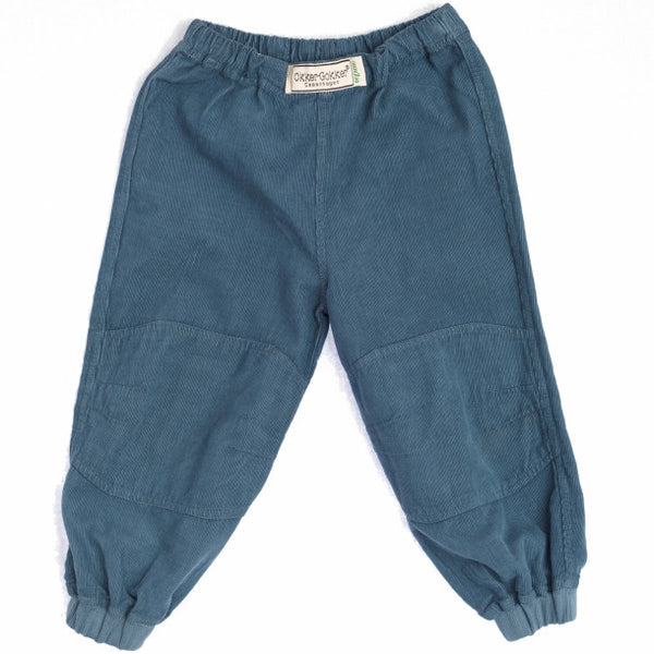 Okker-Gokker organic corduroy pants, dusty blue