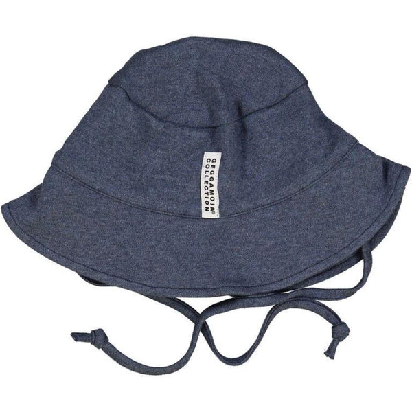 Geggamoja Summer Hat, Marine Blue Solid