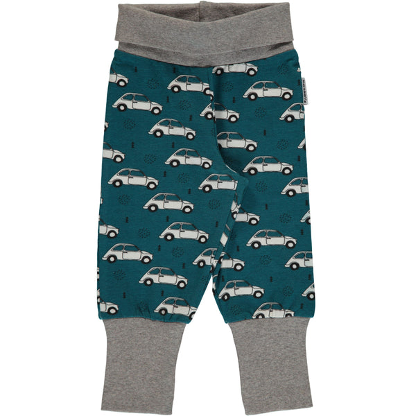 Maxomorra Organic Baby Pants - Cars