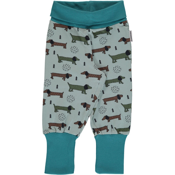 Maxomorra Baby Pants - Dotted Puppy