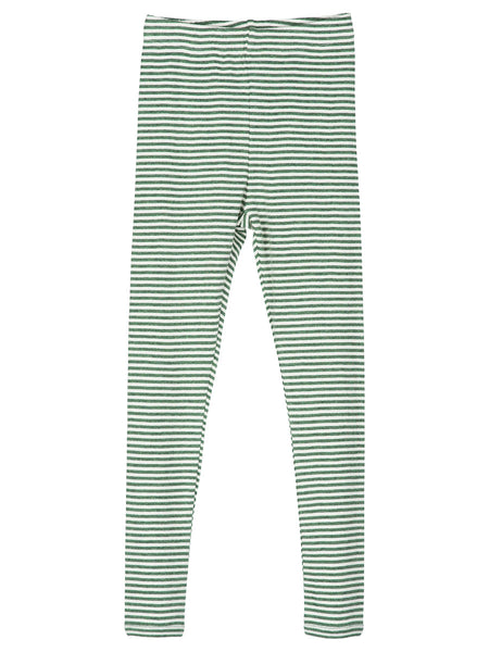 Serendipity Organic Leggings Stripes - Olive