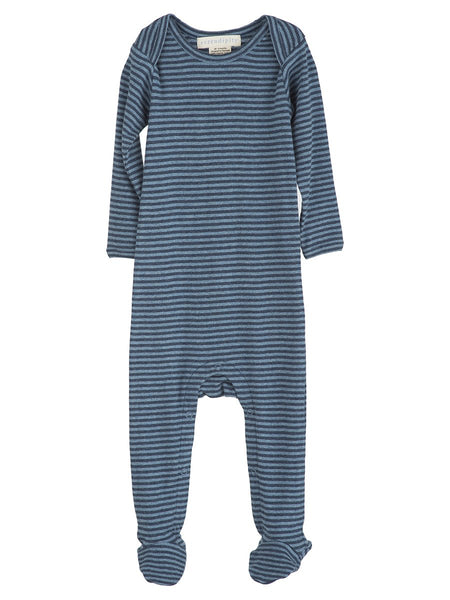 Serendipity organic one-piece stripes