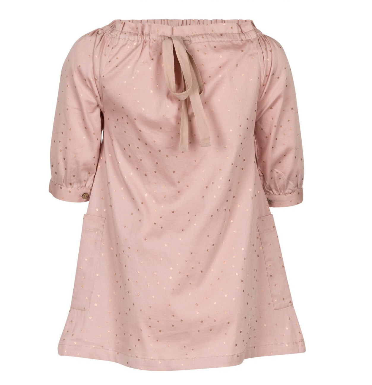 Elodiee Organic MARIE Dress – Rose Gold Star