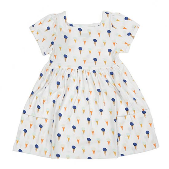 Lily-balou Organic Ice-Cream Dress
