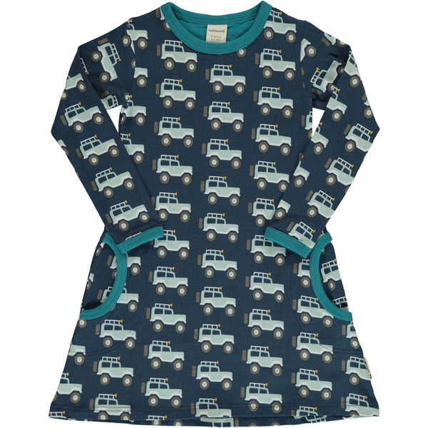 Maxomorra Organic Dress, Jeep Adventure