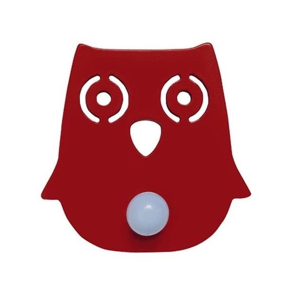 Franck & Fischer red owl coat peg