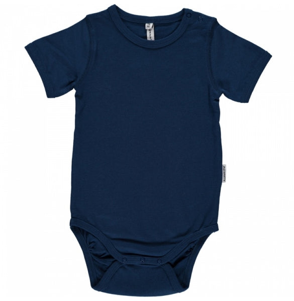 Maxomorra Organic Blue Body S/S