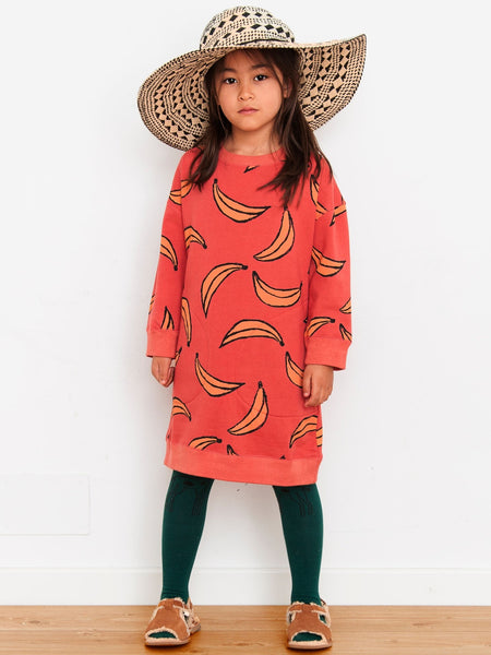 Nadadelazos Organic Dress - Bananas