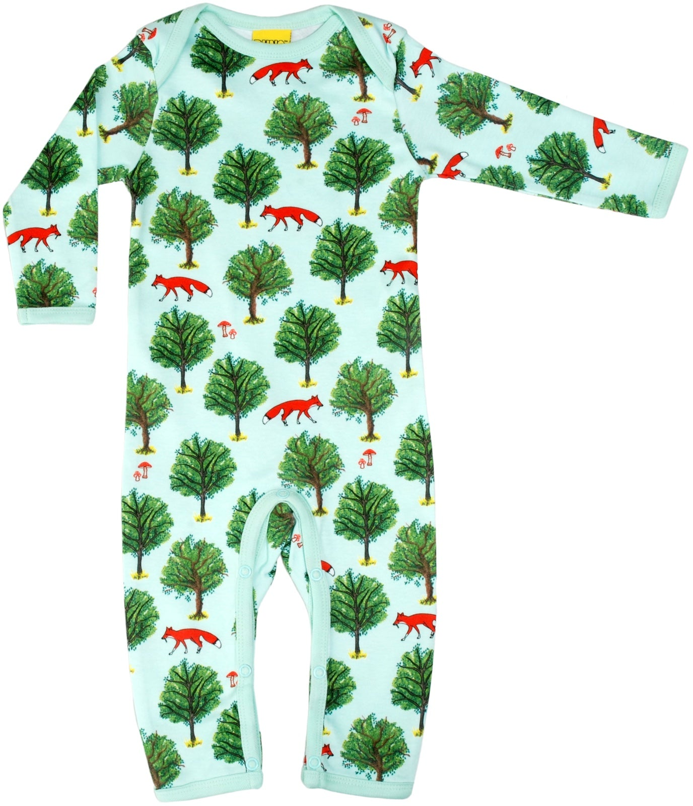 DUNS Sweden Organic Fox & Tree One-Piece