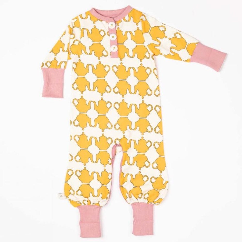 Alba Playsuit Beeswax Teapots