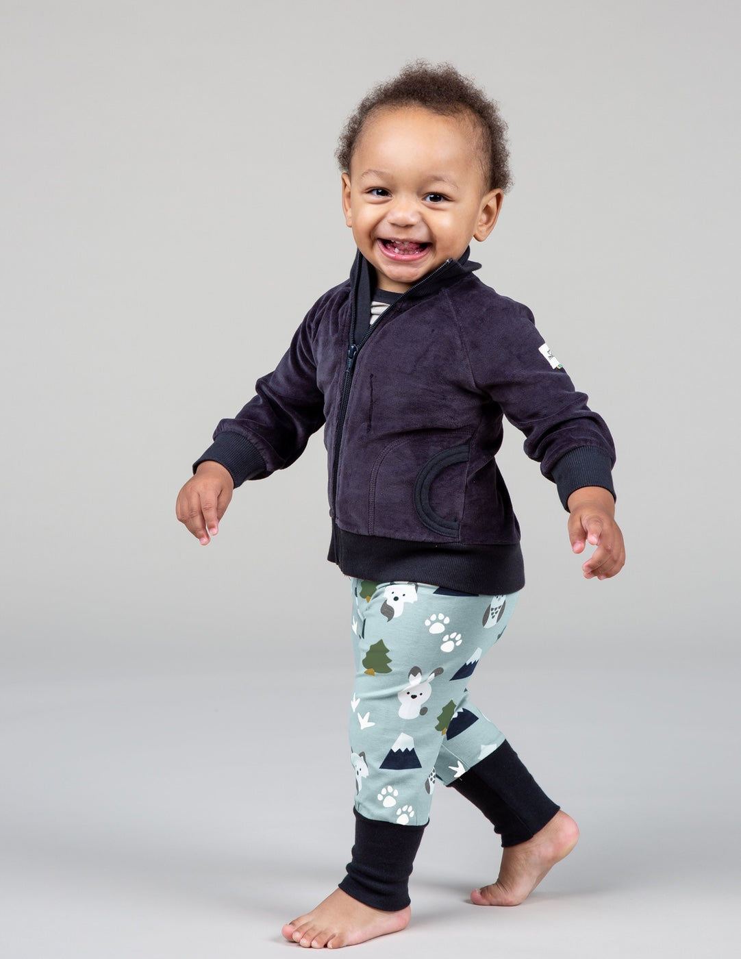 Maxomorra Organic Winter World Pants
