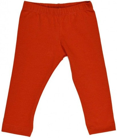 Ba Ba Babywear Organic Leggings, Red