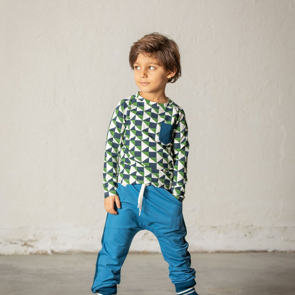 Alba Mason Pants - VALLARTA BLUE