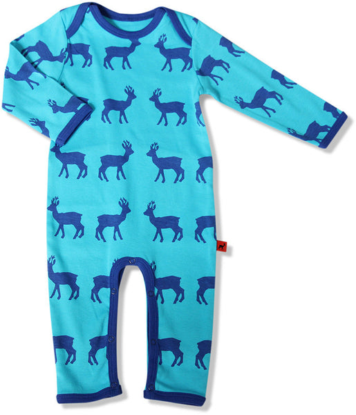 Hjorth blue deer one-piece