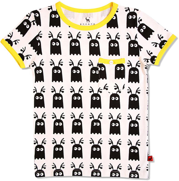 HJORTH organic ghost t-shirt<br>Size 18M - 8Y