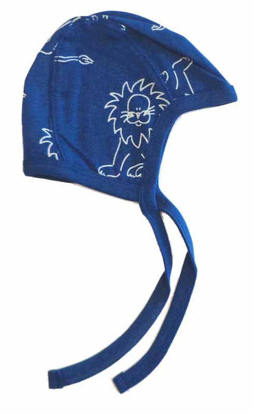 IdaT baby helmet with lions