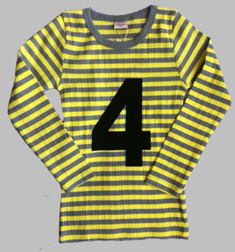 Milibe T-shirt with number 4