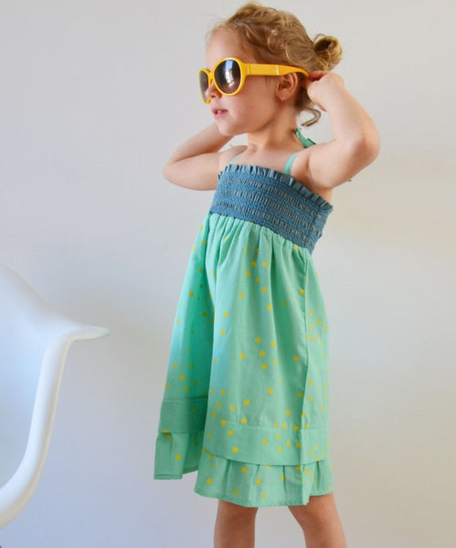 La Queue du Chat  Mallorca dress<br> Size 18M - 6Y