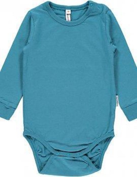 Maxomorra Organic Body L/S, Blue