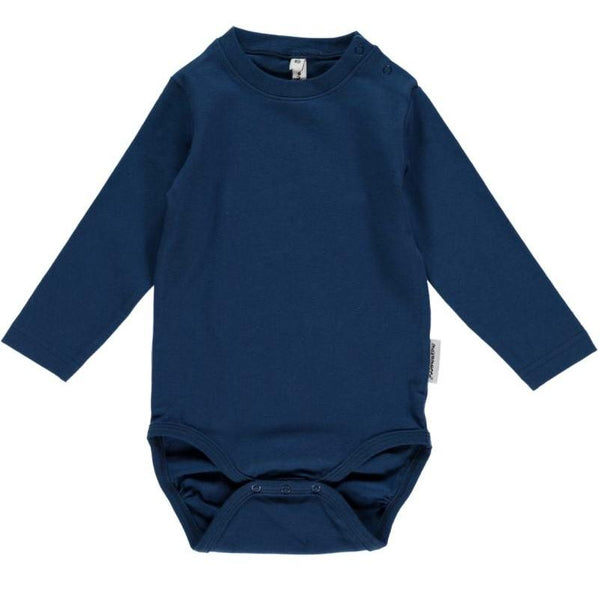 Maxomorra Organic Dark Blue Body L/S