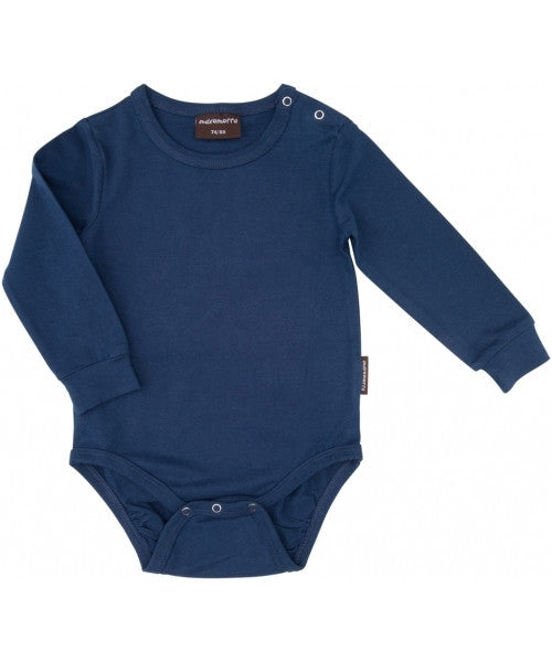 Maxomorra organic blue body l/s
