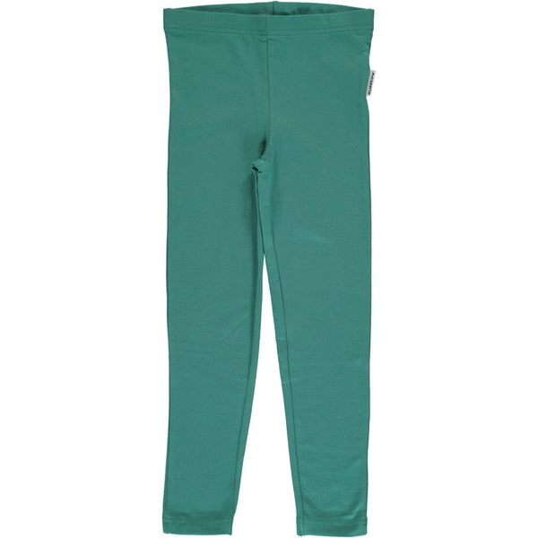 Maxomorra Leggings Green Petrol