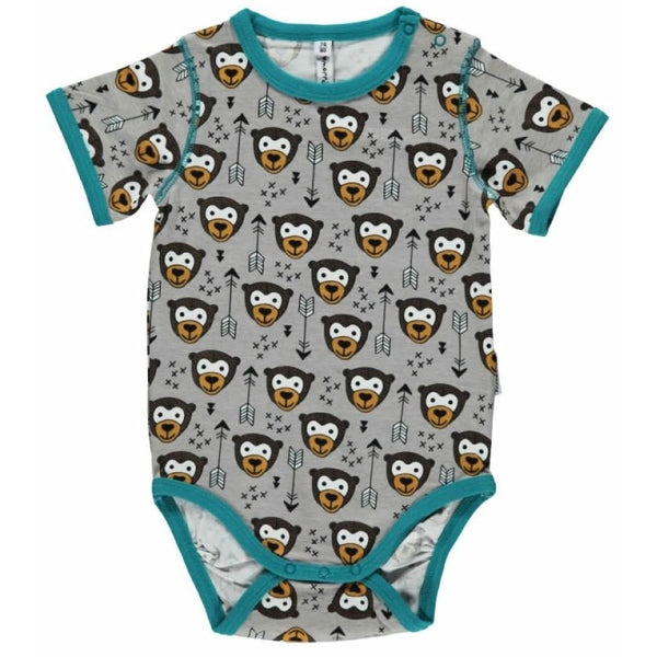 Maxomorra Organic Arrow Monkey Body S/S