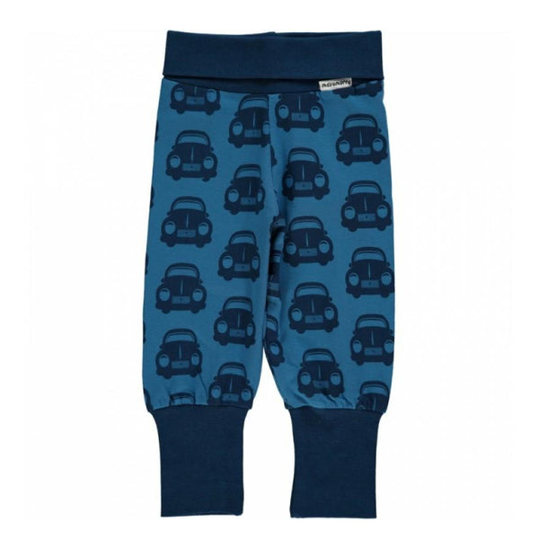 Maxomorra Organic Car Baby Pants