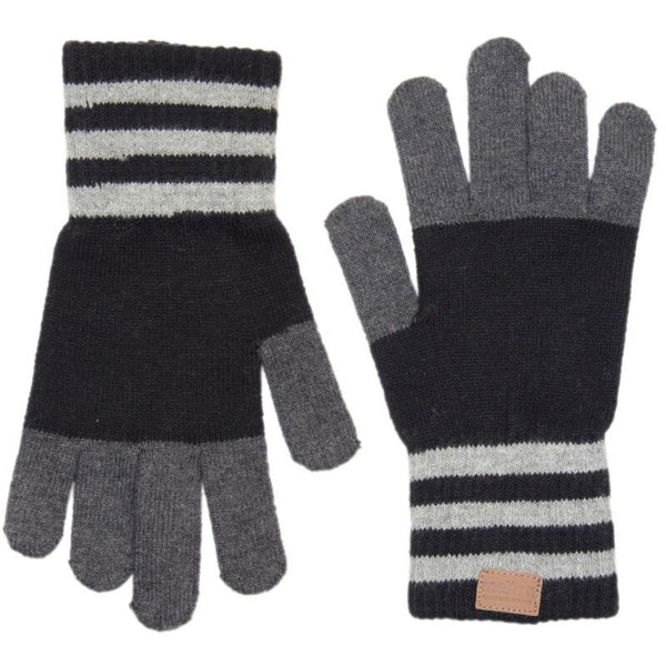 Melton cotton gloves, stripes<br>Size 3-10 years