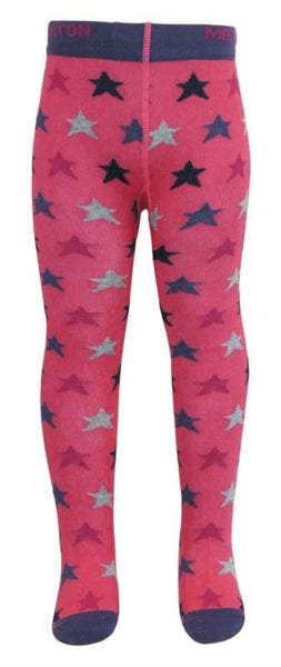 Melton tights, stars<br>0-2 years