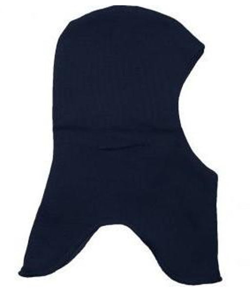 Mikk-line double layered cotton balaclava, navy